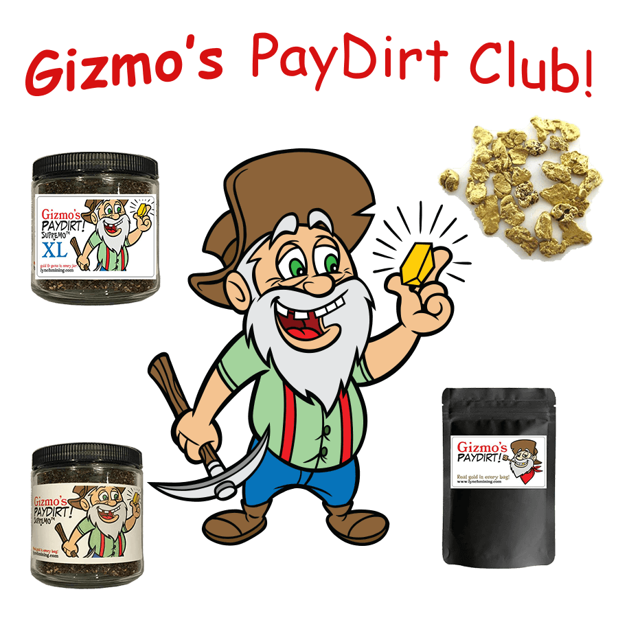 Gizmo's Paydirt Club - online monthly subscription - Paydirt Of the Month Club.png