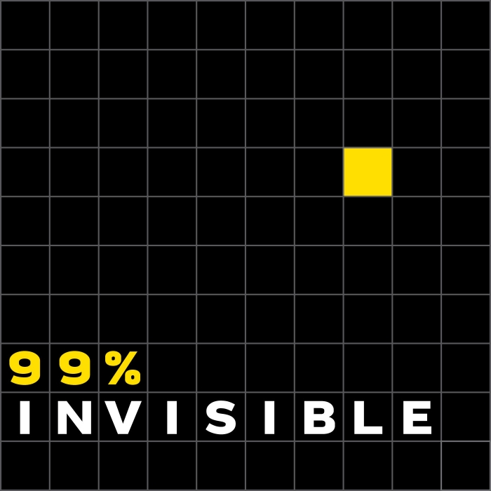 Design is everywhere in our lives, perhaps most importantly in the places where we've just stopped noticing. 99% Invisible is a weekly exploration of the process and power of design and architecture. From award winning producer Roman Mars, KALW in San Francisco, and Radiotopia from PRX.