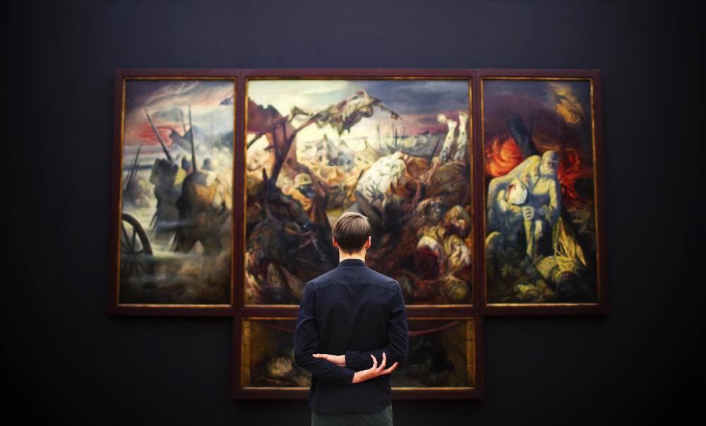 """Episode 168: Depictions of War<a href=""""http://www.strideandsaunter.com/new-blog/2017/10/25/episode-168-depictions-of-war"""">Listen →</a></p>"""