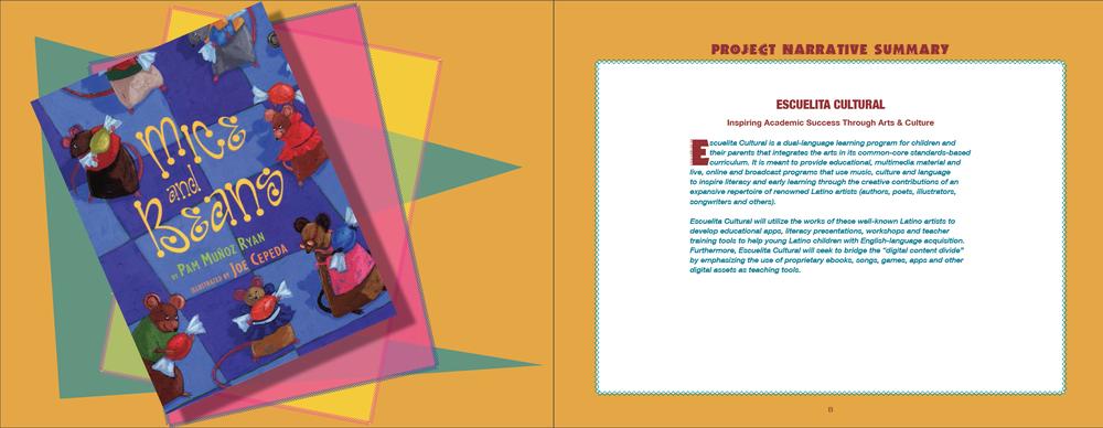 Escuelita Cultural brochure