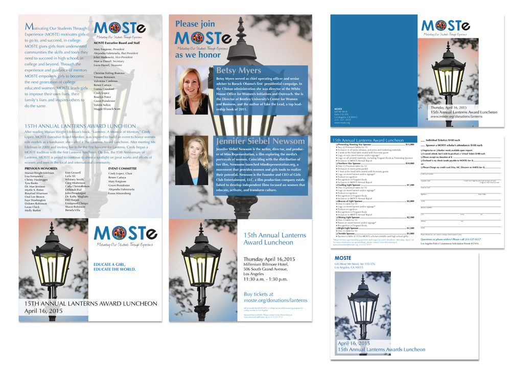 MOSTE Lanterns invitation