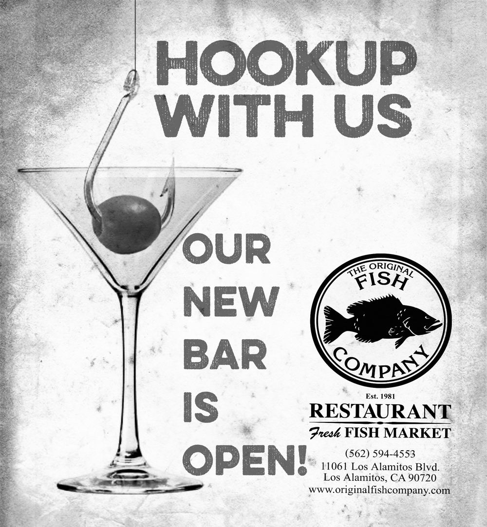 Original Fish Company new bar campaign