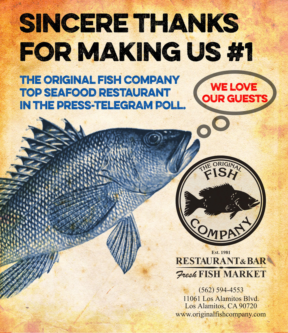 Original Fish Company Award Ad