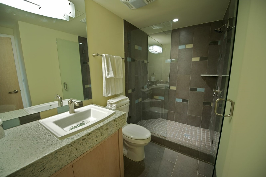 Multifamily Residential Krittenbrink Architecture - Bathroom remodel norman ok