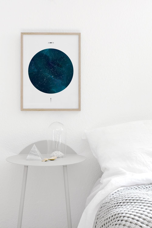 "Coco Lapine - Above. 30cm x 40cm - 190 g ""Fine Art print Aquarel"". Preget med Coco Lapine-logoen"