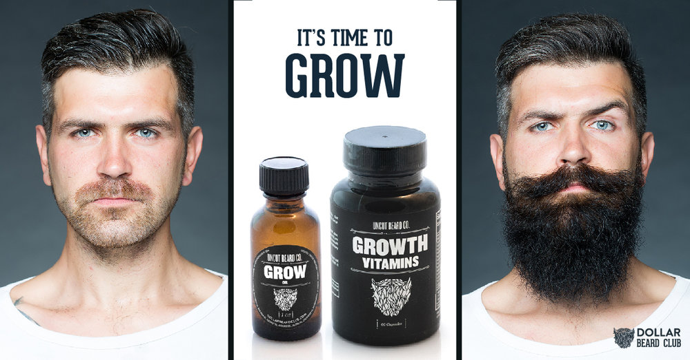 Growth Oil and Vitamins Facebook Ad