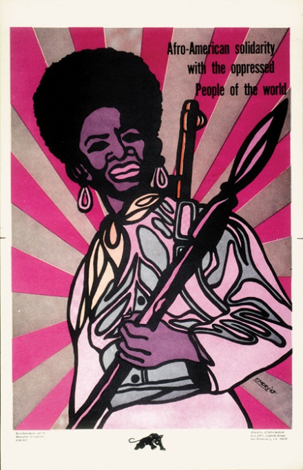 Image by Emory Douglas of the Black Panther Party for Self Defense