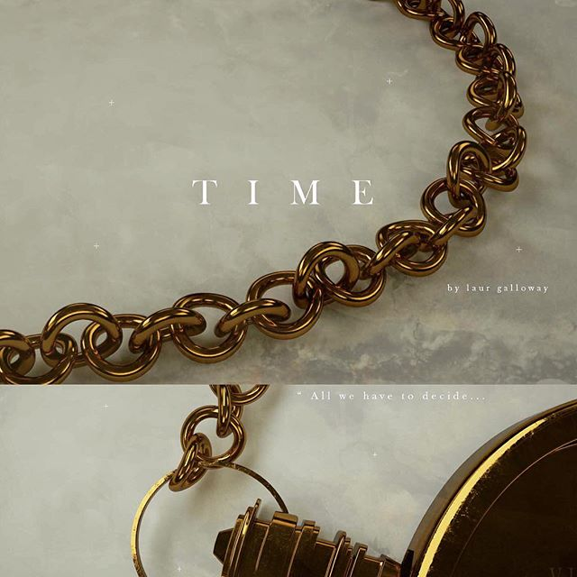 Presenting 'Time' by @laur.engalloway • Beyond proud of Laur Galloway and her progress and enthusiasm during my @cgsocietyofficial course. 8 weeks goes by in a flash, but Laur modelled her pocket watch from scratch, established a design direction, learnt octane and is currently developing animation. The fall term starts later this month. Sign up to be part of the next team! #cgsfundamental
