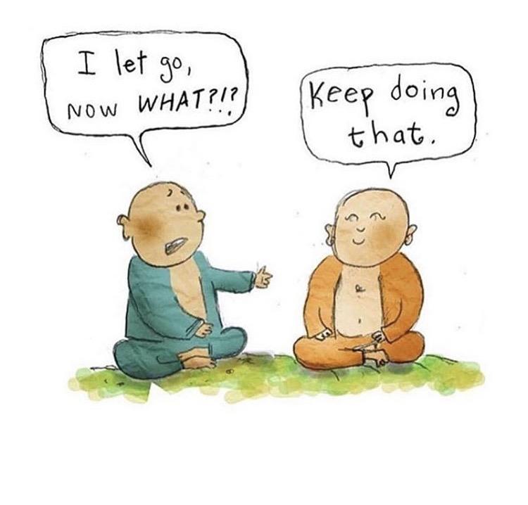 buddha let go