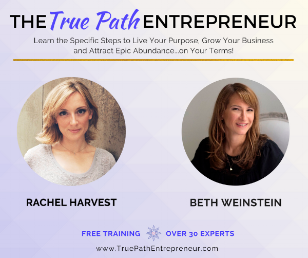 Rachel Harvest - Facebook post - True Path Entrepreneur summit .png