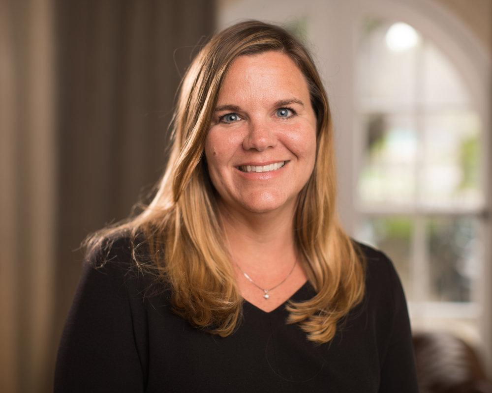 Adrienne Evans, Director of Finance
