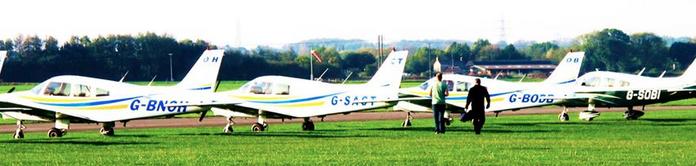 Sherburn Aero Club fleet