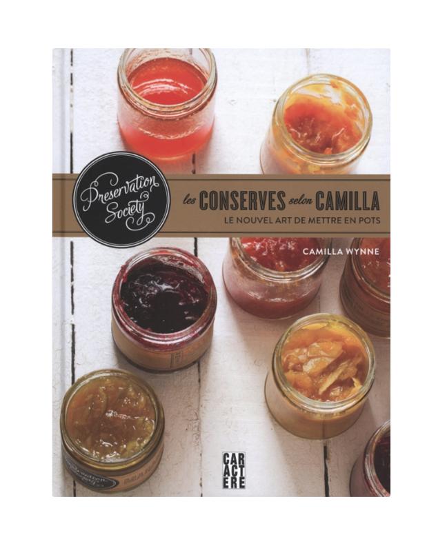 Préservation Society :  Les Conserves selon Camilla