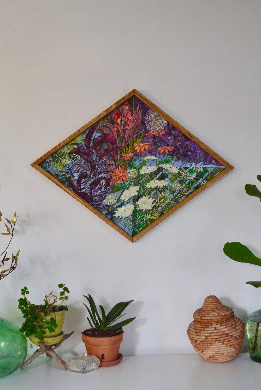 'Botanical Queen' 4'x2'