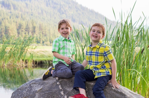 These are the joys of my life!  Gavin and Noah at a wedding in Leavenworth, summer 2014.