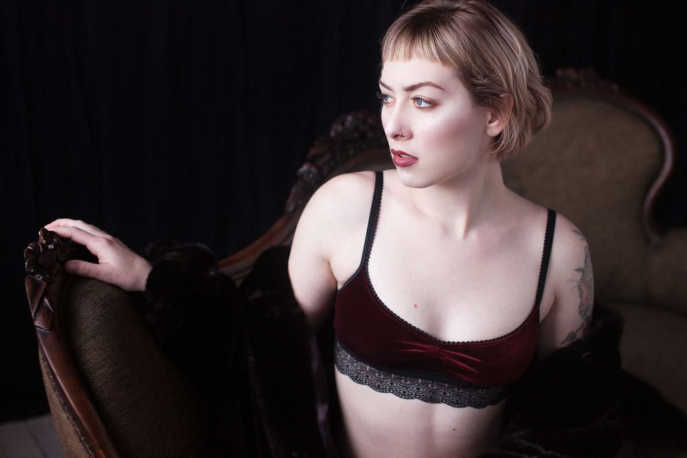 Sarah  Lingerie:   Vava Lingerie    Photographer:   Holly Seeber Photography
