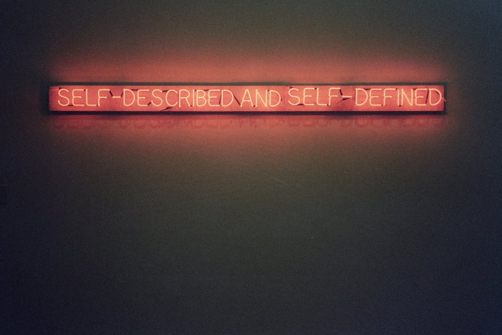 Self-described and Self-denied  Joseph Kosuth, 1965