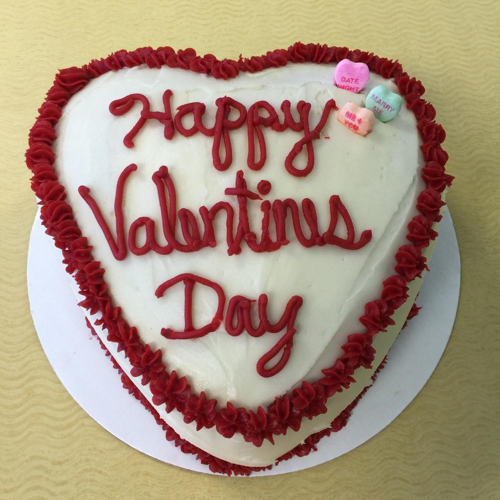 Valentines Yellow Cake