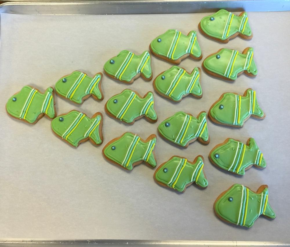 School of Fish Cookies