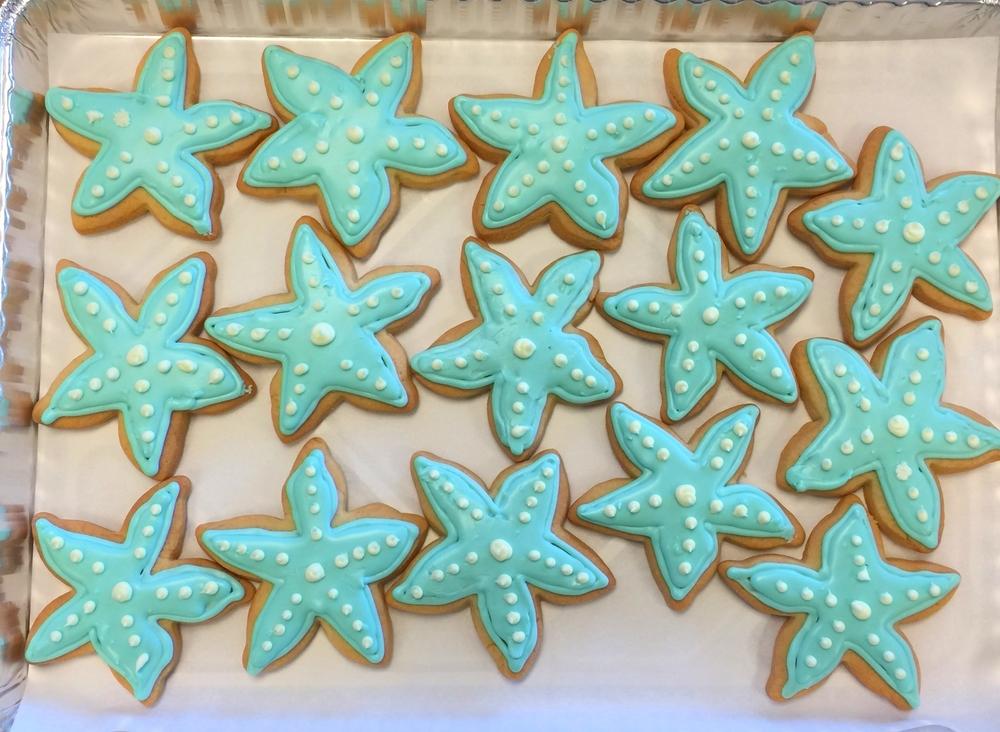 Star Fish Cookies