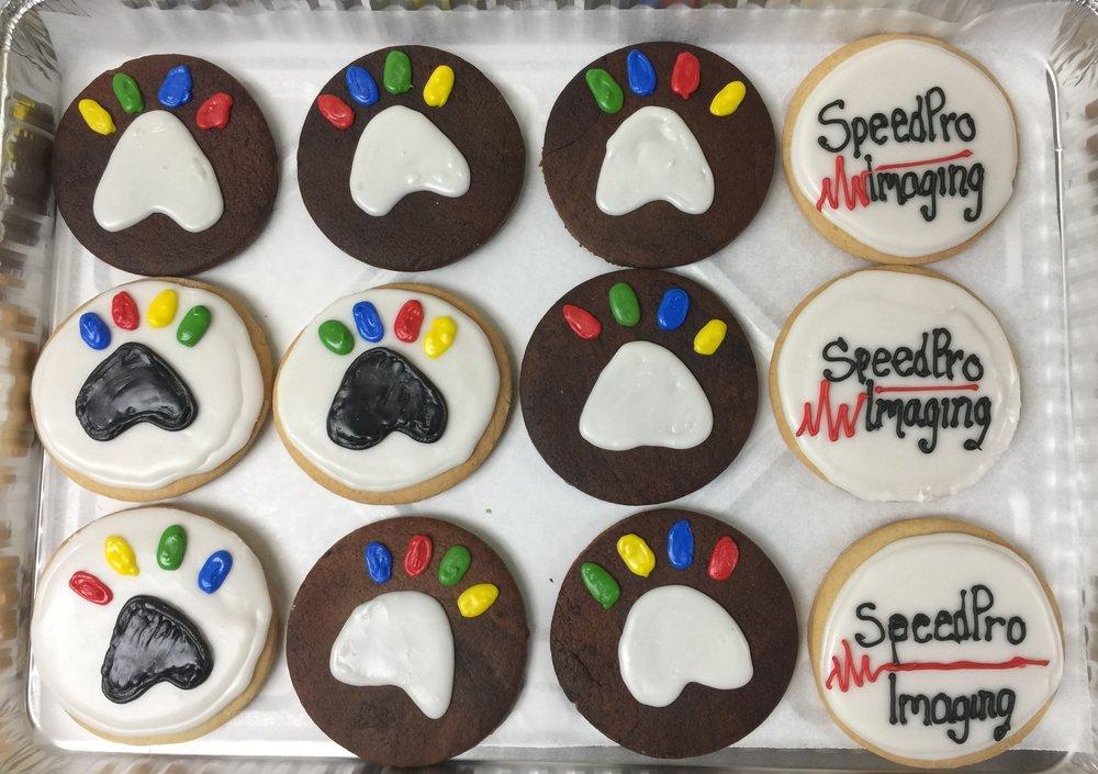 Dalmatian Sugar Cookies