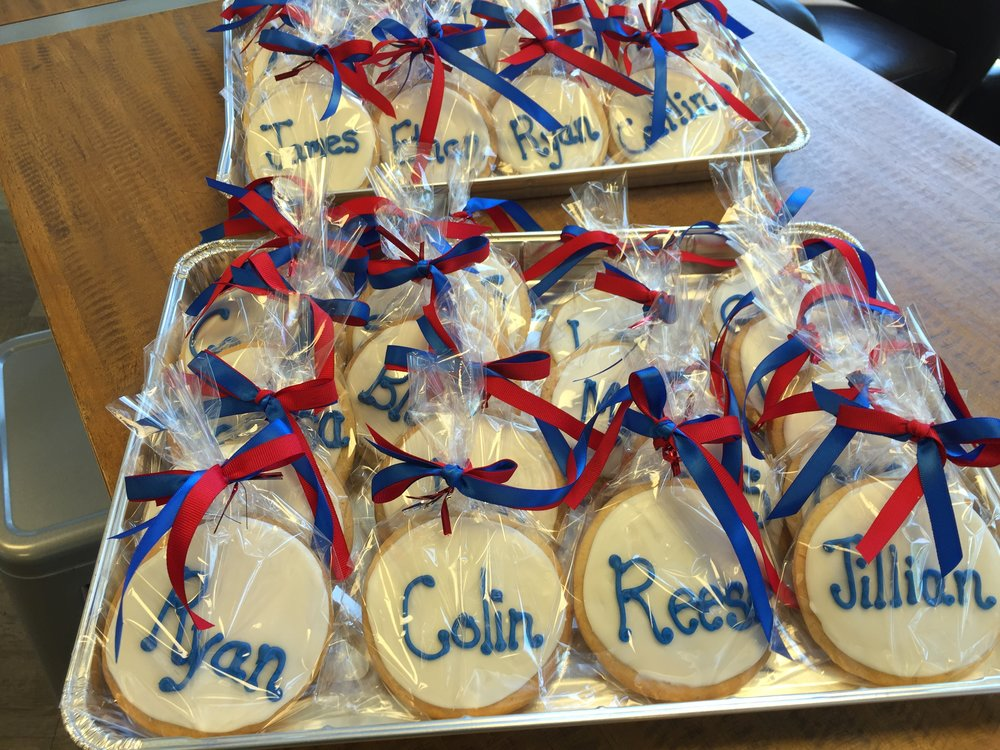 Student Name Sugar Cookies