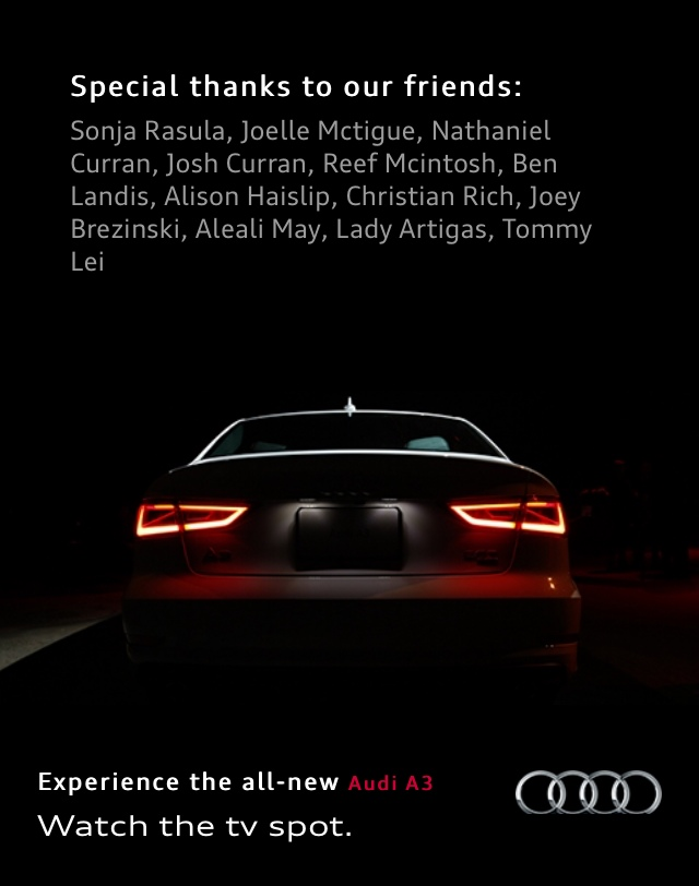 AUDI: #PAIDMYDUES Campaign
