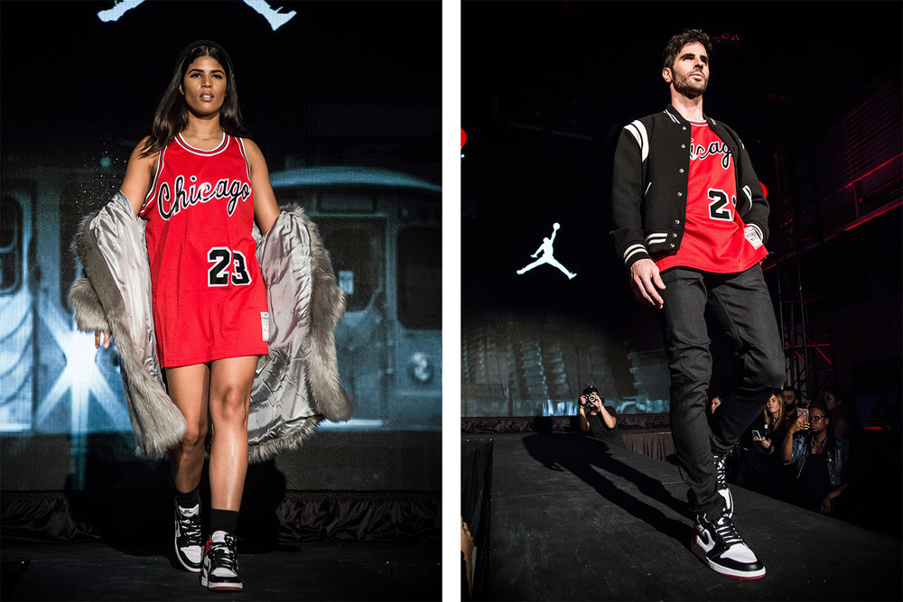 """The One Who Started It All"" Jordan Banned Tribute - Fashion Show"