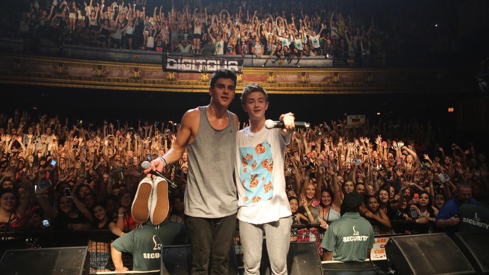 Jack&Jack post show crowd picin Chicago...