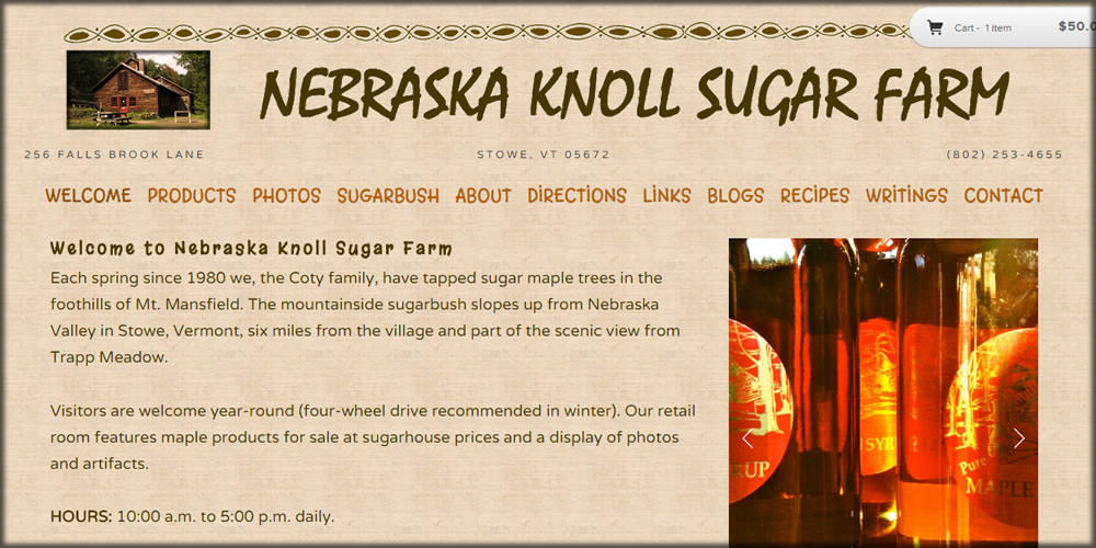 Nebraska Knoll Sugar Farm