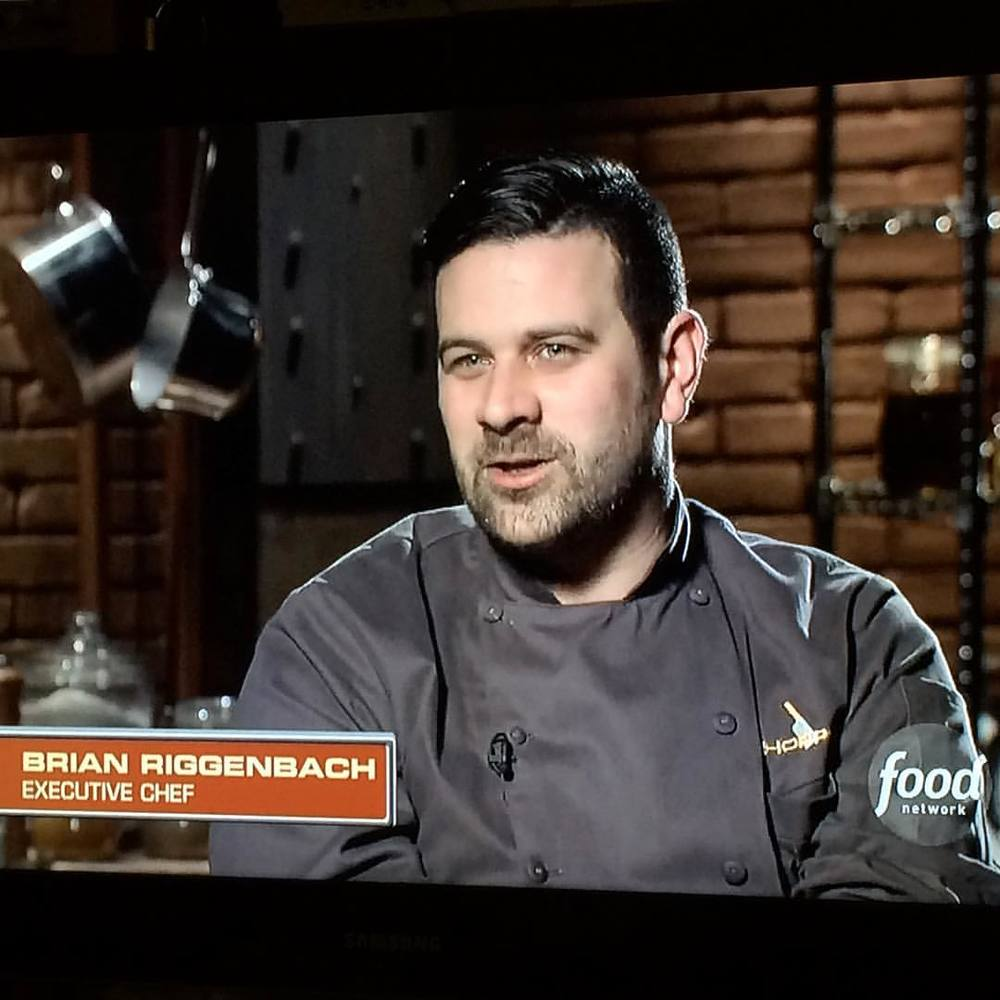 "Yo Soy's Brian Riggenbach on FOOD NETWORK ""CHOPPED"" on episode ""Wild Ride"" Fun at the carnival is the theme for this special Chopped competition. In a sign of what's to come, the chefs open the first basket to find that two out of the four ingredients are deep-fried. An outrageous sundae is the centerpiece of the second basket, but it's the deep-fried ravioli that causes trouble for one competitor. Then, after a wild final round, the judges face an unprecedented dilemma. It was a 'wild ride' indeed and we are stoked that OUR CHEF CAME OUT VICTORIOUS!"