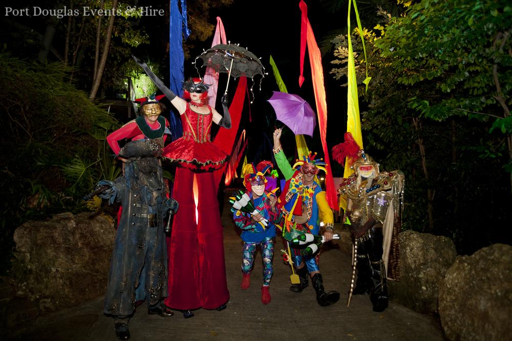 Port Douglas - Cirque Du Soleil - Entertainers