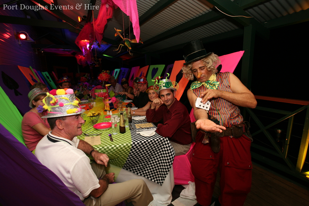 Port Douglas - Mad Hatters Tea Party - Guests gone Bonkers