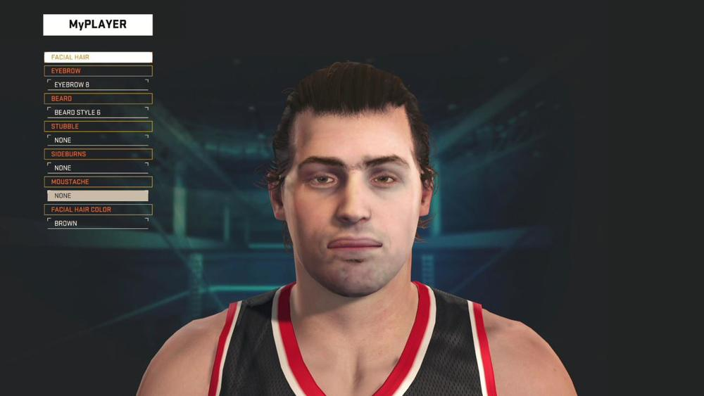 This is pretty much how the MyPlayer starts out before you modify it.
