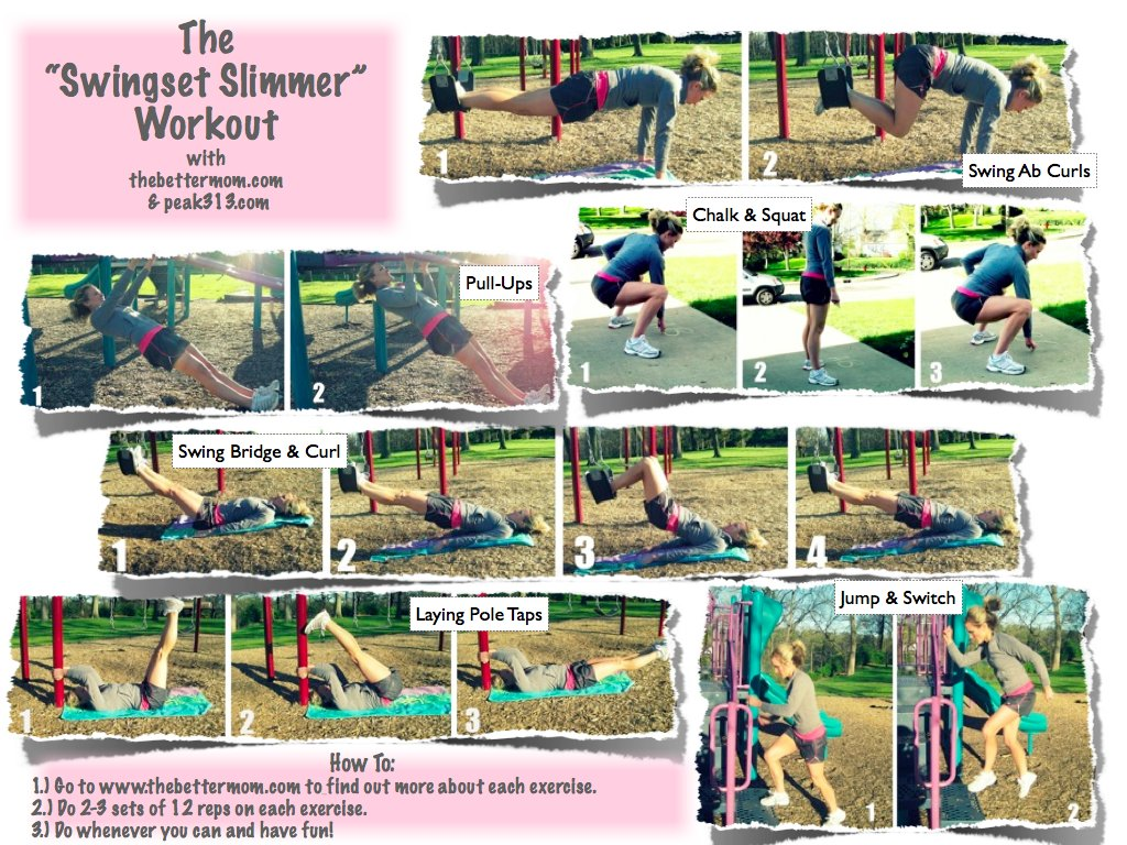 Exercise While Playing Outside With Your Kids {FREE ...