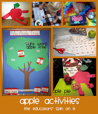 Fall Apple Activities