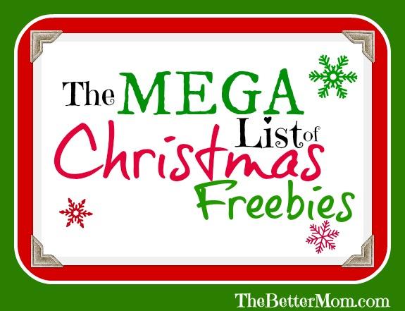 Christmas Freebies
