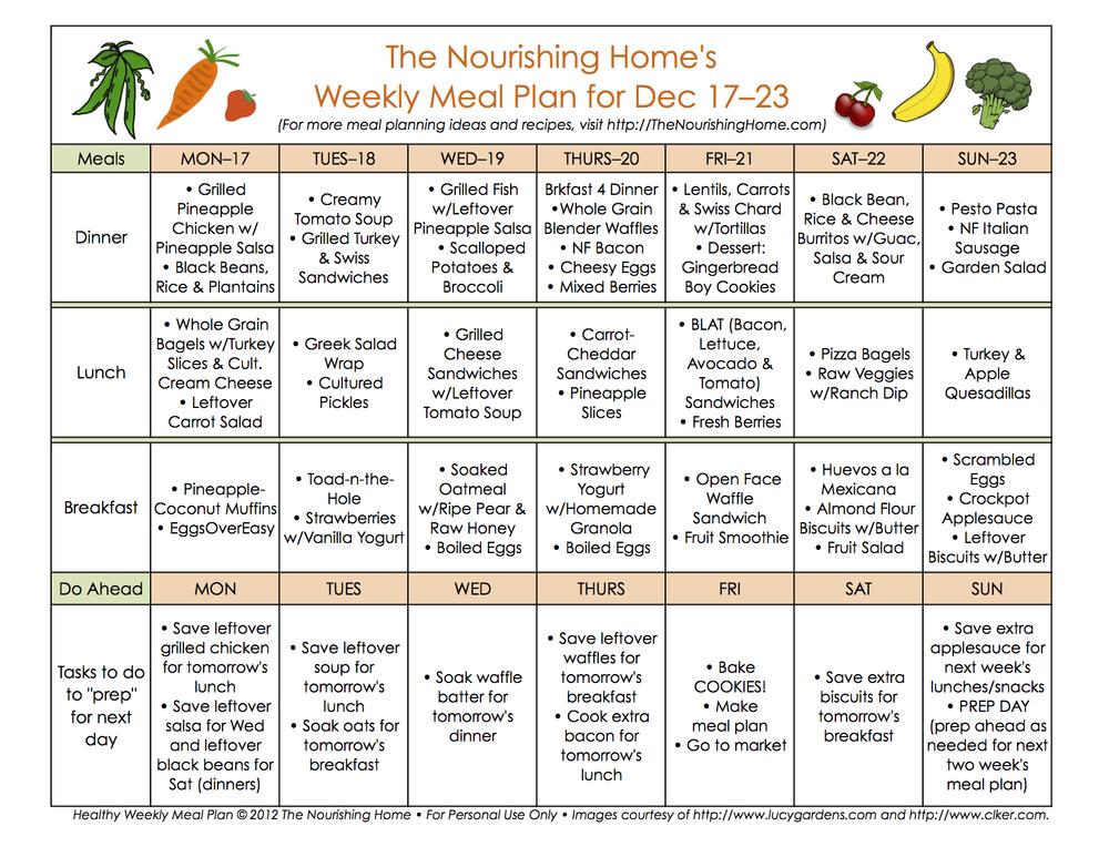 abbastanza nutrition plan templates - Gse.bookbinder.co II59