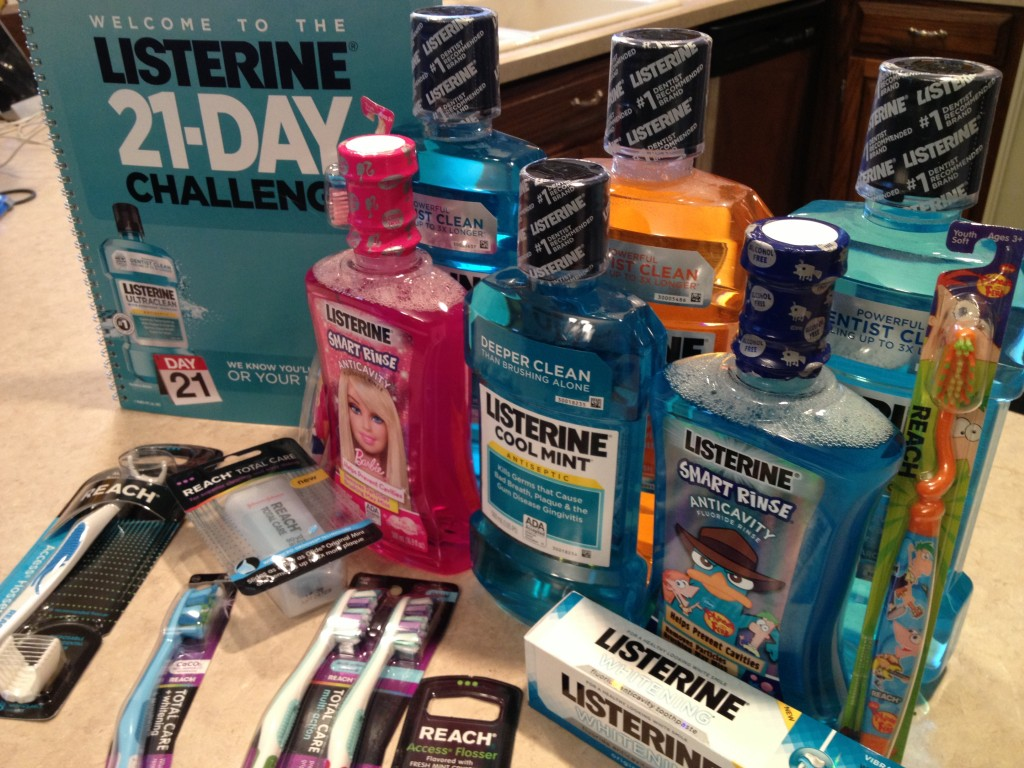 The Listerine Oral Health Challenge! ~www.thebettermom.com