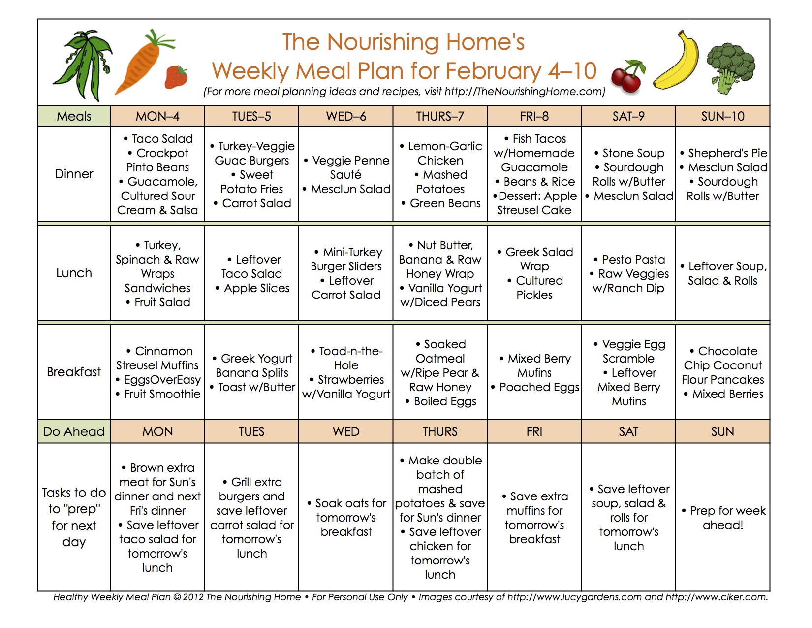 New Meal Plan 40a