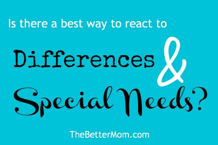 differences special needs