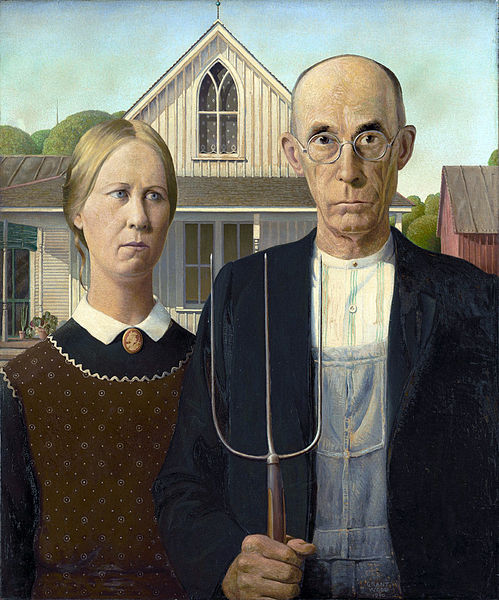 Grant Wood, American Gothic