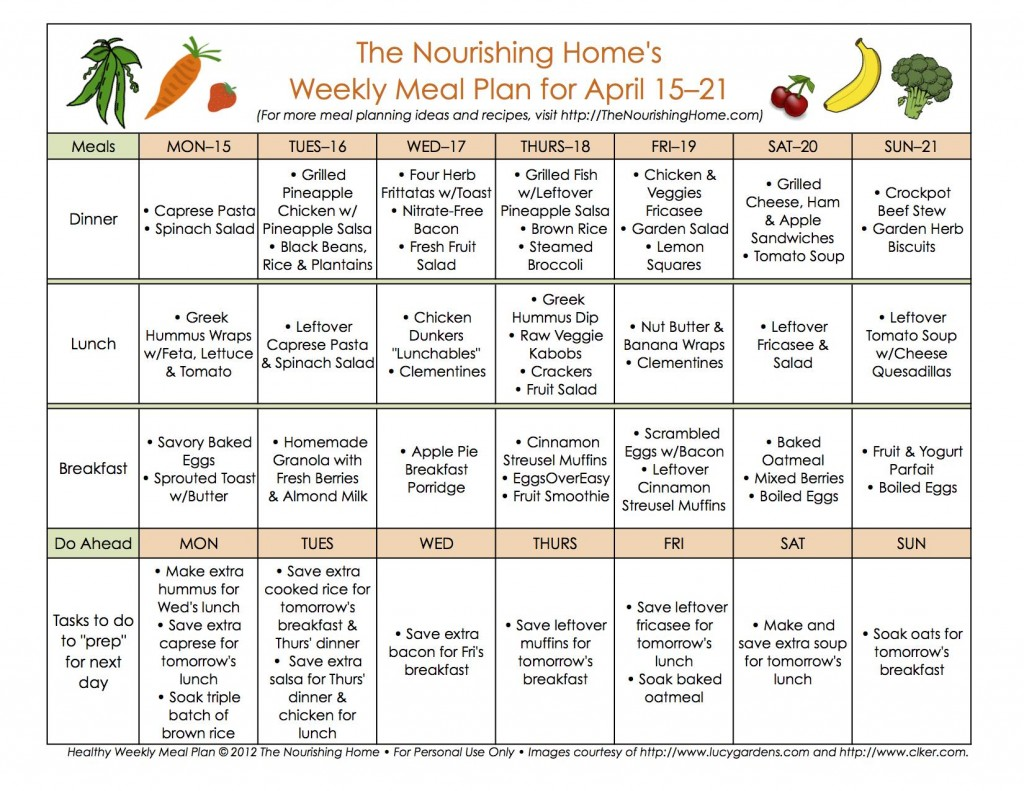 New Meal Plan 45a