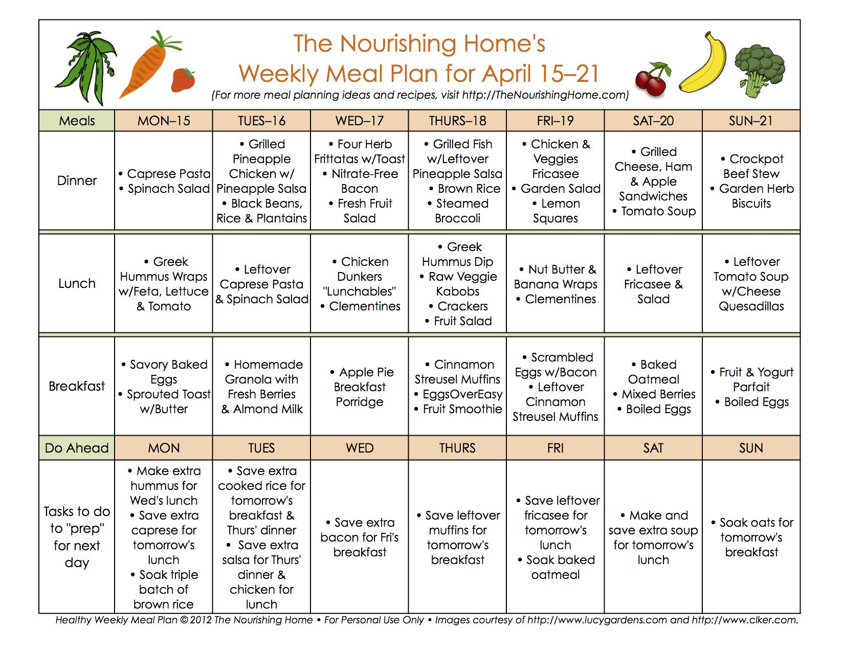 bi weekly meal plan for april 15 28 the better mom