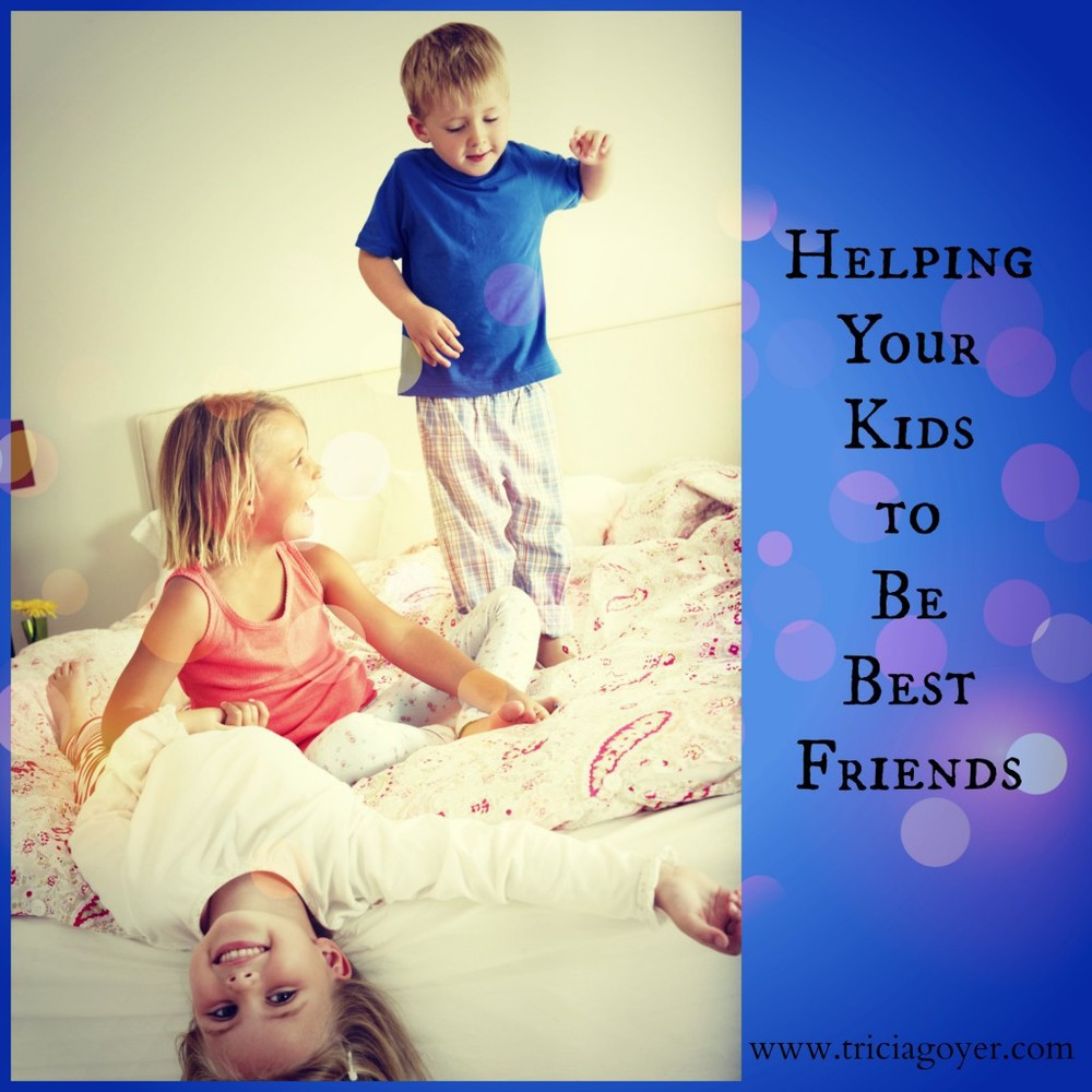 Helping Your Kids to Be Best Friends ~www.thebettermom.com (NOT a bad link)