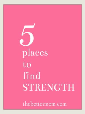 places to find strength