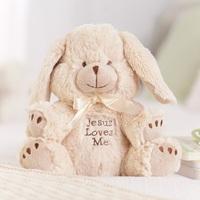 Jesus Loves Me - Musical Bunny Plush