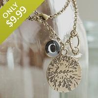 Redeemed - Chosen - Medallion Necklace