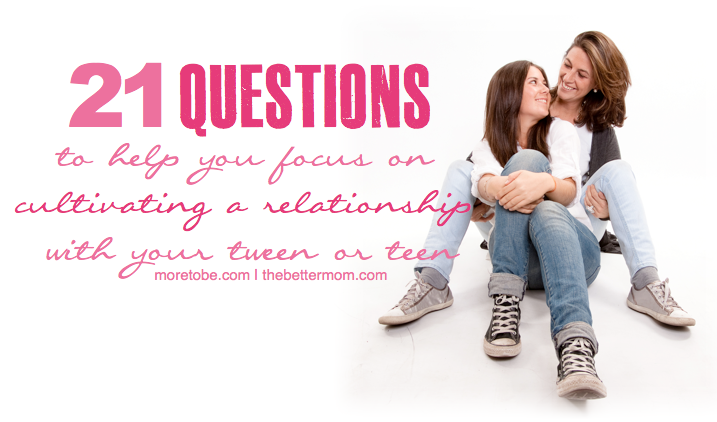 relationship and a questions for teens