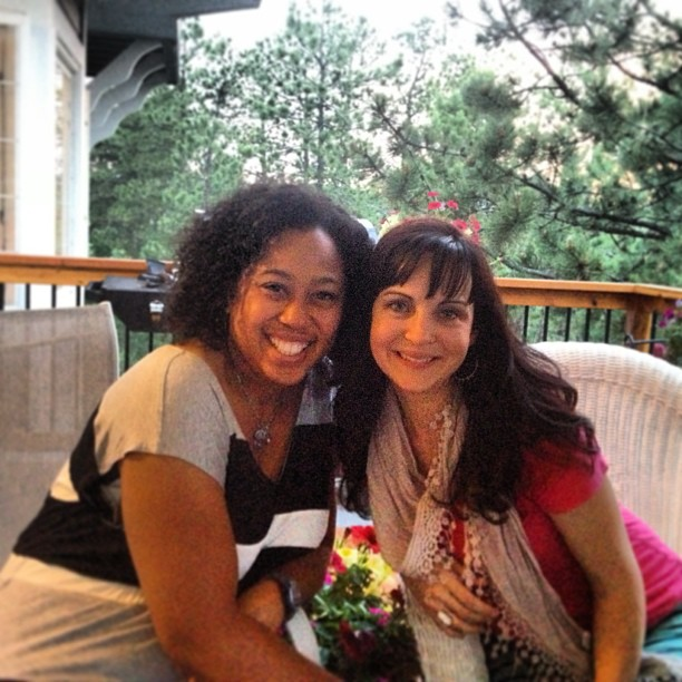 Chrystal Evans Hurst and Ruth Schwenk (Are you a Kingdom Woman?) ~www.thebettermom.com